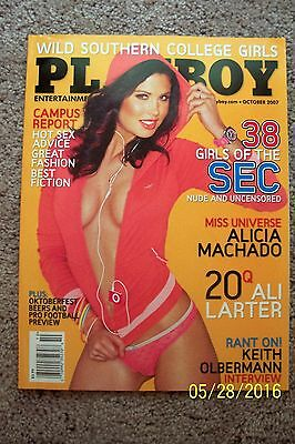 Playboy Magazine - October 2007