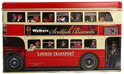 Walkers Shortbread London Bus Tin Assorted Biscuits 450 G Home Household Suppli