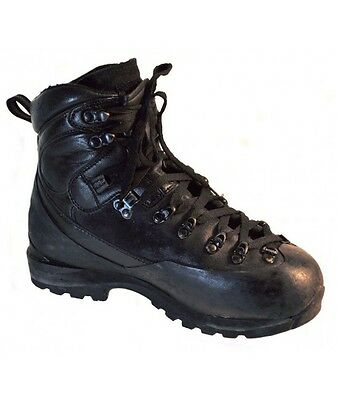 French Army Alpine Goretex boots Mountain Black leather paratrooper Asolo combat