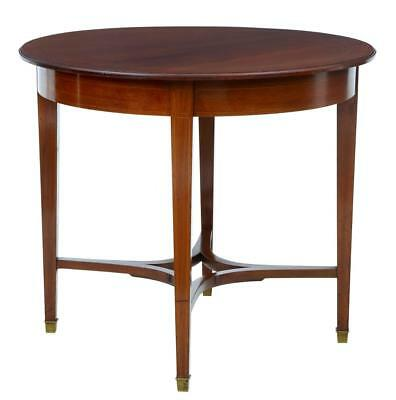 EARLY 20TH CENTURY 1920's MAHOGANY CENTER TABLE