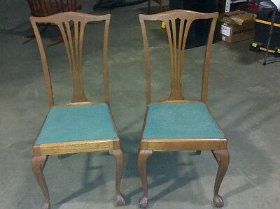 Surprising Set Of 8 Tiger Oak Dining Chairs Dated 187 1 600 00 Short Links Chair Design For Home Short Linksinfo