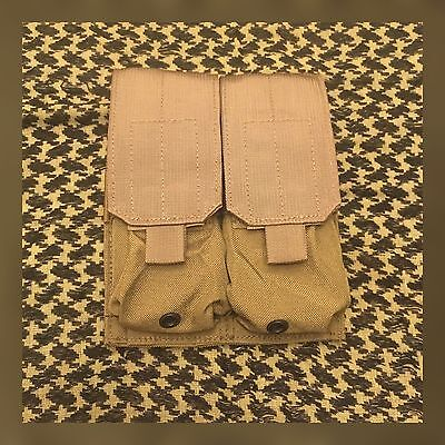Eagle Allied Industries Double Mag Magazine Molle Pouch Coyote Khaki Desert Tan