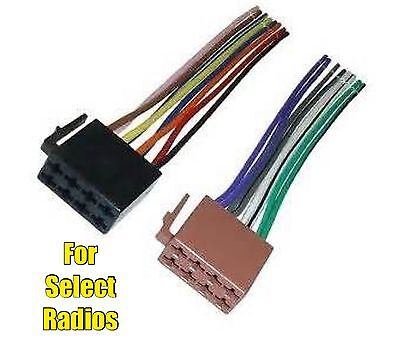 car stereo radio replacement wire harness for some jensen pin car stereo radio replacement wire harness plug for select planet audio radios