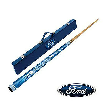 "License 1x Ford Pool Snooker 57"" Cue & Case Set for Birthday X'mas Father Gift"