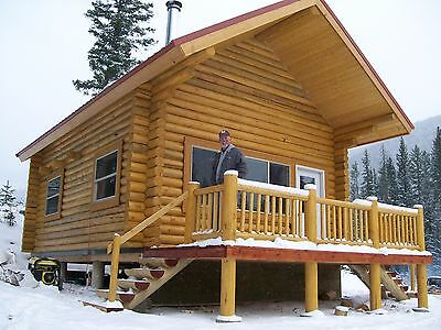 Amish Quality Log Sided Cabin Pre Built Delivered 14 X