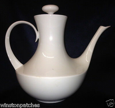Block Bidasoa Spain Blanco Teapot 32 Oz All White Espana