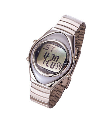 OVO Talking Alarm Watch (Stainless Steel Smooth)