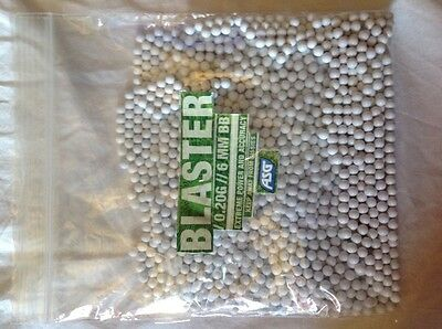 Blaster Biodegradable Airsoft BB's in 250 per bag