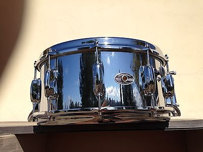 1977 Slingerland Tdr 6.5X14 Chrome Over Wood Snare Drum, 3 Grometts, A Beauty !