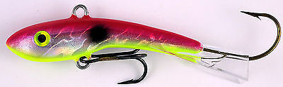 "MOONSHINE LURES SHIVER MINNOW SIZE #3 3-1//2/"" 1 oz CRAB CAKES"