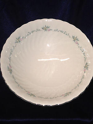 """Syracuse China Sweetheart Round Footed Vegetable Bowl 8 1/4"""" Silhouette Shape"""