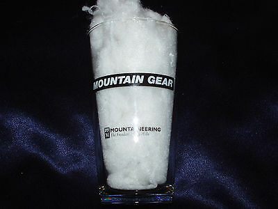 Mountain Gear Mountaineering Freedom Of The Hills 16 Ounce Glass Water Knot Rope