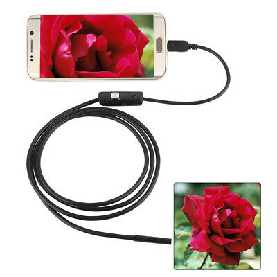 7MM 6 LED Android Endoscope Borescope Waterproof Inspection Video Camera