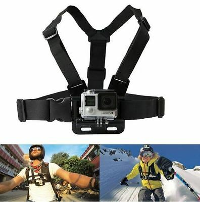 Adjustable Chest Harness Strap Mount For GoPro Hero 1 2 3 3+ 4 Camera