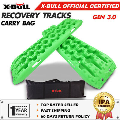 X-BULL NEW Sand Track Recovery Track Mud Snow Grass Olive 4X4 ATV Off Road Tyre