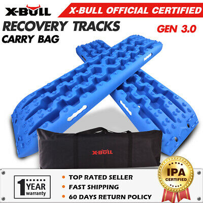 X-BULL NEW Pair Recovery Tracks /Sand Track/Mud  Blue Trax/Off Road 4WD 4x4 Car