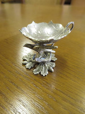 Silver Plated Salt Cellar.