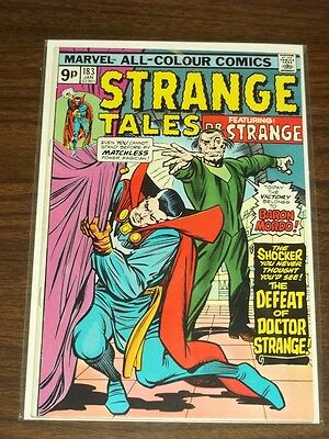 Strange Tales #183 Fn+ (6.5) Marvel Comics Dr Strange January 1976