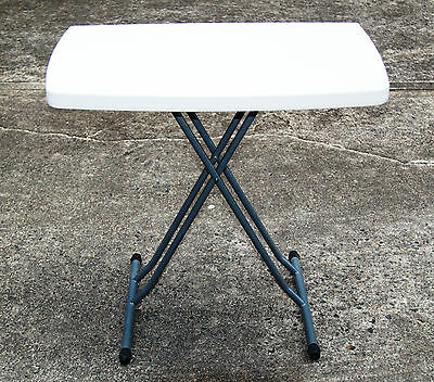 Sale Now On - High Quality Small Portable 4 Position Adjustable Table $35