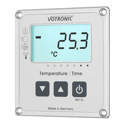 Votronic LCD-Thermometer / Uhr S Anzeige MPP & SR Solar Laderegler Wohnmobil