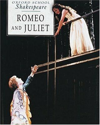 Romeo and Juliet (Oxford School Shakespeare), William Shakespeare Paperback Book