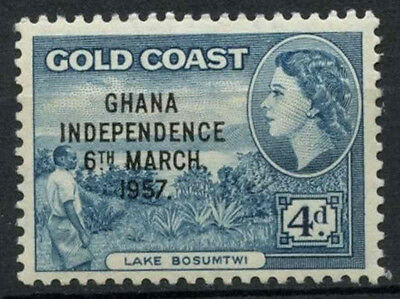 Ghana 1957-1958 SG#176, 4d Blue QEII Definitive MNH #D21782