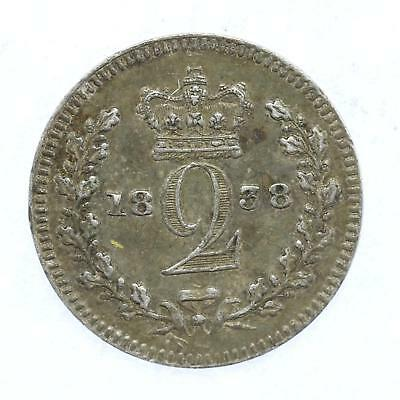 1858 Queen Victoria Maundy 2d Twopence Lot D7