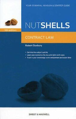 Nutshells: Contract Law Revision Aid and Study Gu... by Robert Duxbury Paperback