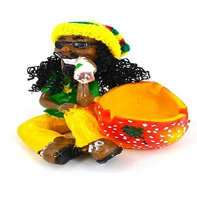 NEW Rasta Man Jamaican Cigarette Ashtray Smoking Ash Bob Marley Tobacco Cigar