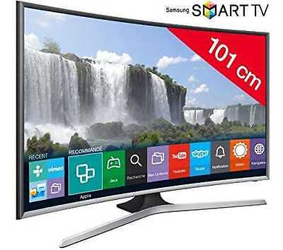 Samsung Series 6 J6300 40-Inch Widescreen Full HD Smart Curved LED Television