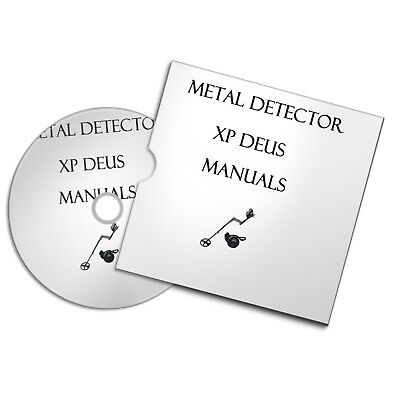 Xp Deus Metal Detector User Owner Manuals  Detecting Free P+P