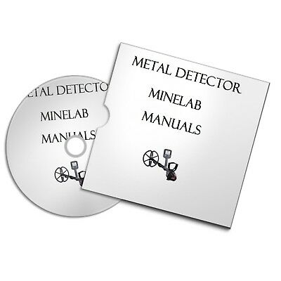 Minelab Metal Detector User Owner Manuals  Detecting Free P+P