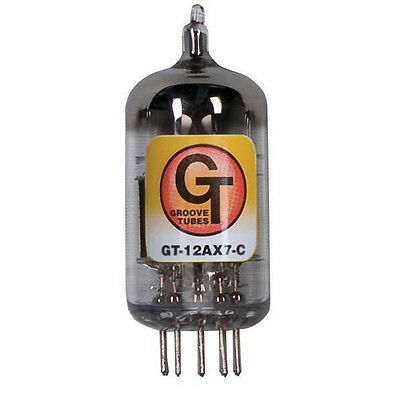 Groove Tubes GT 12AX7 Gold Series 12AX7-C Vacuum Tube SINGLE Guitar Amplifier