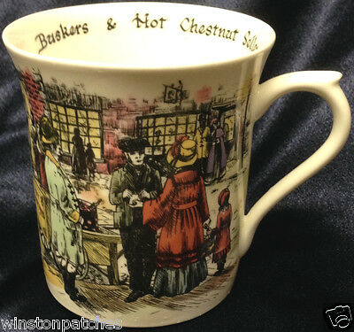 Rosina Queens Carole E Watson Cries Of London Mug Buskers Hot Chestnut Seller