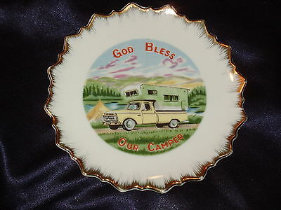 Colorado City Conoco God Bless Our Camper Plate Truck