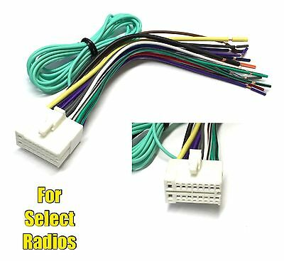 car stereo radio replacement wire harness for some jensen 20 pin car stereo radio replacement wire harness plug for select clarion dvd radios