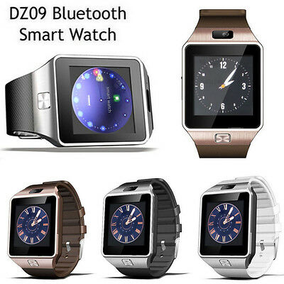 Luxus DZ09 GSM Smartwatch Bluetooth Intelligent Reloj Para Android Teléfono