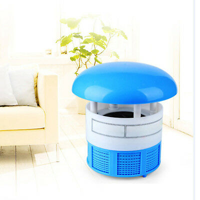 Electric Photocatalyst Lamp Bug Insect Fly Mosquito Killer Zapper Catcher Trap