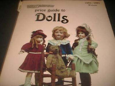 1982  DOLLS WALLACE HOMESTEAD PRICE GUIDE RW Miller Photo Book Vintage Antique