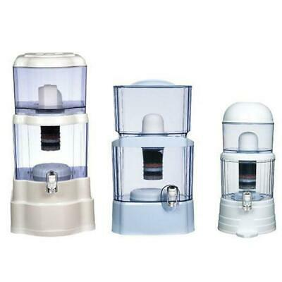 8 Stage Benchtop Water Filter - Ceramic Mineral Stone Carbon Purifier Filters