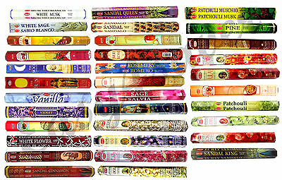 HEM INCENSE VARIOUS INCENSE PACK  (60 STICKS P-Z) Pack of 3