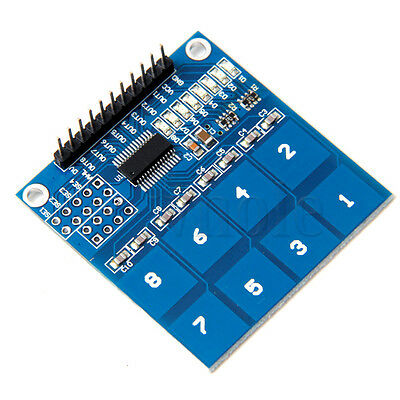 TTP226 8 Channel Digital Touch Capacitive Touch Switch Sensor Module TW