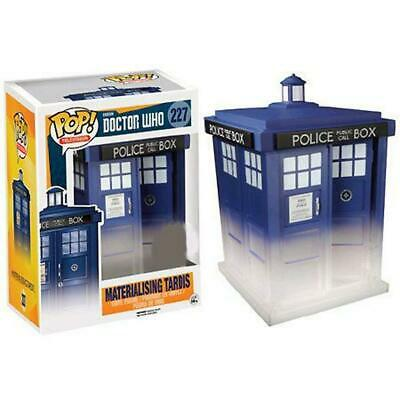 Doctor Who - Materializing TARDIS 6 inch Pop! Vinyl Figure - FunKo Free Shipping