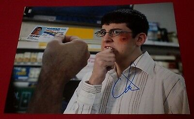 Christopher Mintz Plasse Signed Superbad Funny Mclovin Id Photo Autograph Coa