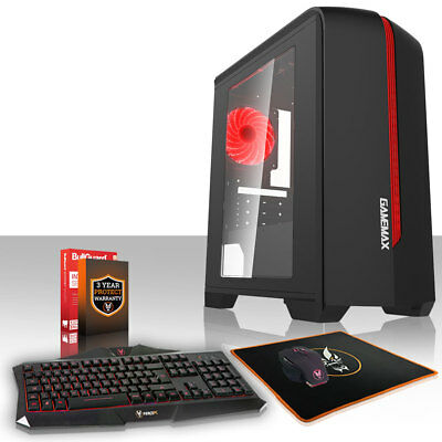 ULTRA FAST Quadcore 16GB 1TB Desktop Gaming PC Computer Bundle 4.2GHz AMD 197323