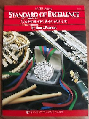 Pearson Standard Excellence Bassoon Book 1 New