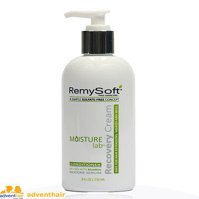 Remy Soft BlueMAX Moisture Lab Recovery Cream 8 oz for lace wigs,toupee, hair
