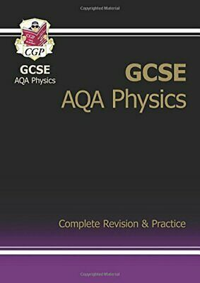 GCSE Physics AQA Complete Revision & Practice, CGP Books Book The Cheap Fast