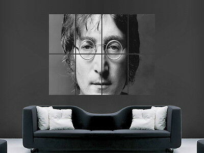 John Lennon Music Legend The Beatles  Wall Poster Art Picture Print Large