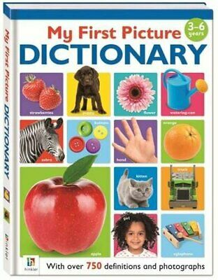 My First Picture Dictionary by Hinkler Books PTY Ltd Book The Cheap Fast Free